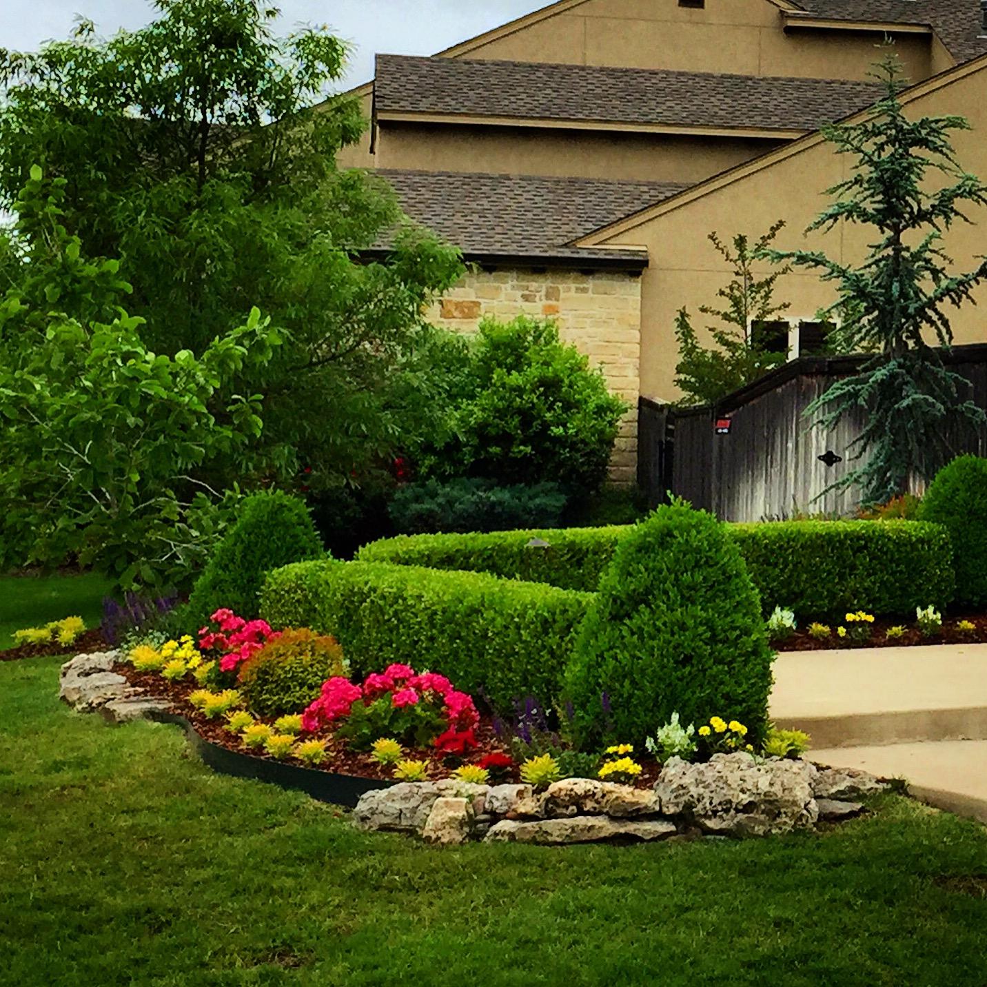 Elm Creek Tulsa Ok Landscape Design And Landscaping Services